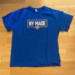 Men's New York Knicks Logo Short-sleeve T-Shirt